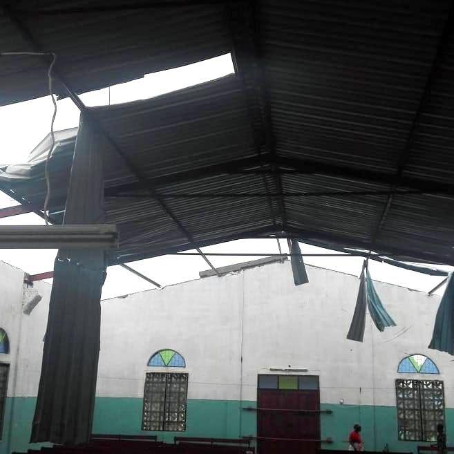 201903 Ciclone Mocambique Igreja Beira Espiritanos